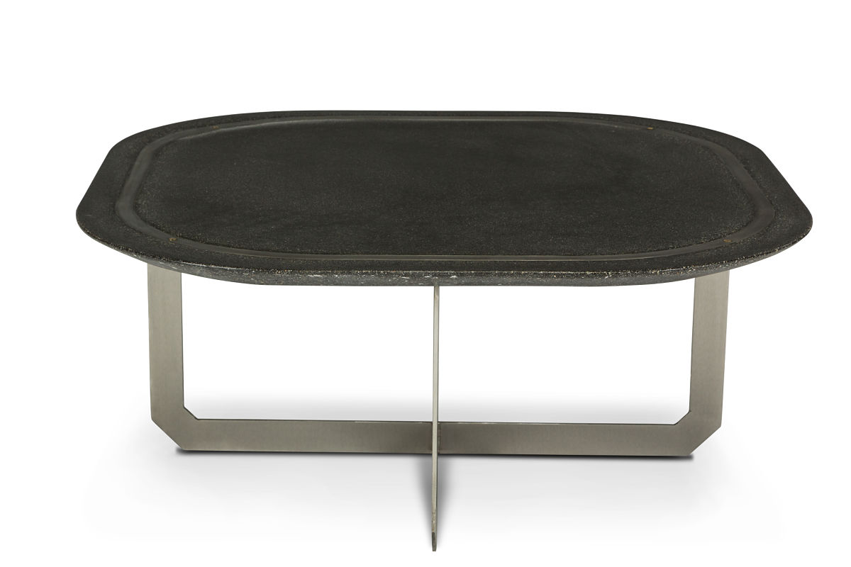 concrete coffee table, concrete dining table
